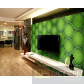 Exterior and Interior  Glue on Wall HD 3d Surface Panel.-LAGOS GREEN