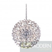 Nora 45 Light Large Crystal Chandelier In Chrome With Elegant Cut Clear Crystal 54""