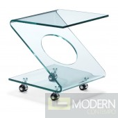 Legacy Side Table Tempered Glass