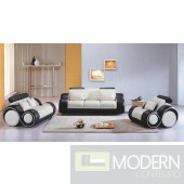 Divani Casa 4088 - Contemporary Leather Sofa Set