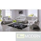 Modern Leather Sofa Set - MCNV410