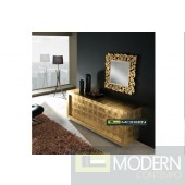 Violeta Luxury Gold Sideboard - 4 Door