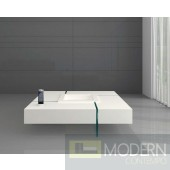 Modern White Lacquer Top Coffee Cocktail Table