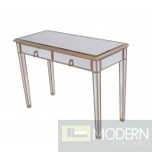 Asta 2 Drawers Dressing table/Desk Gold