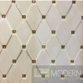TexturedSurface 3d wall panel with Crystal stones  TSG1504