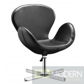 Cobble Lounge Chair Black