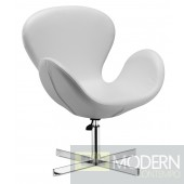 Cobble Lounge Chair White