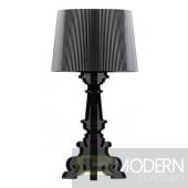 Salon L Table Lamp Black