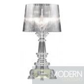 Salon L Table Lamp Clear