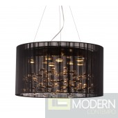 Symmetry Ceiling Lamp Black