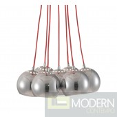 Kalise Ceiling Lamp Red