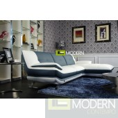 Modern Leather Sectional Sofa  MCNV501