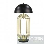 """JOS METAL 28"""" ART DECO TABLE LAMP,GOLD"""