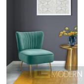 TESS Mint Green Velvet Accent Chair. Instore Item DMV deals