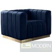 Monte Carlo Velvet Chair