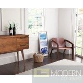 ZUO Modern Perth Occasional Chair Chestnut - 100784  LOCAL DMV DEALS