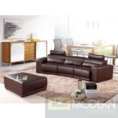 6003 - Modern Bonded Leather Sofa