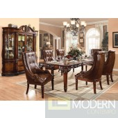 60075 Winfred Dining Table in Cherry by Acme w/Options