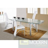 Zuritalia Modern Glass Dining Table