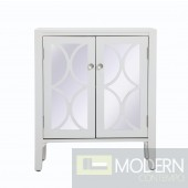 "28"" Bradford mirrored cabinet White"