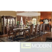 62000 Vendome Dining Table in Cherry by Acme w/Options