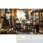 62005 Vendome Dining Table in Cherry by Acme w/Options