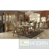 AC63000 Gold  Finish Vendome Formal Dining Room Table w/Options
