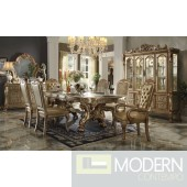 AC 63150 GOLD PATINA DRESDEN DINING SET