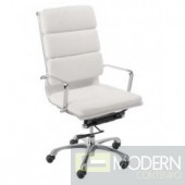 LEIF HIGH BACK OFFICE CHAIR WHITE
