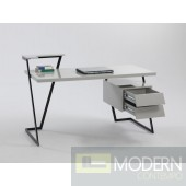 2 Drawer Modern Computer Desk Top