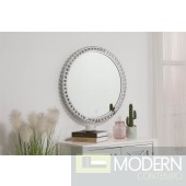 "Helios Crystal 28"" LED Mirror"