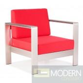 Cosmopolitan Armchair Cushions Red