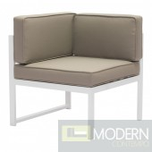 Golden Beach Chaise LSF Mocha
