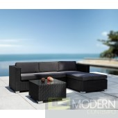 Renava Coiba - Modern Outdoor Sectional Sofa and Coffee Table