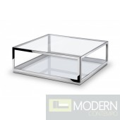 Centennial Stainless Steel Coffee Table
