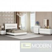 Avara White Bedroom Set