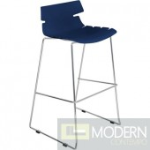 Bonefish Bar Stool Dark Blue