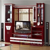 Contemporary Modern wall unit entertainment center MCSS8020