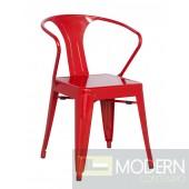 Galvanized Steel Side Chair