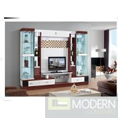 Contemporary Modern wall unit entertainment center MCSS8027