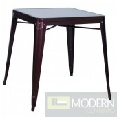 Galvanized Steel Dining Table