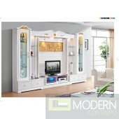 Contemporary Modern wall unit entertainment center MCSS8036