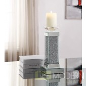 Valente Accent Candleholder in Mirror - Set of 2