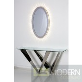 W Stainless Steel Console