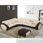 Divani Casa 816B - Modern Leather Sectional Sofa