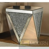 Lucca Mirrored End/Side Table