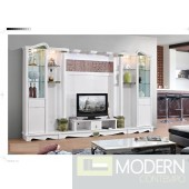 Contemporary Modern wall unit entertainment center MCSS8361