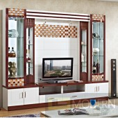 Contemporary Modern wall unit entertainment center MC8801