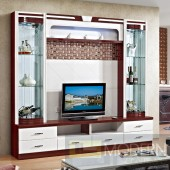 Contemporary Modern wall unit entertainment center MC8802