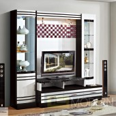 Contemporary Modern wall unit entertainment center MC8803
